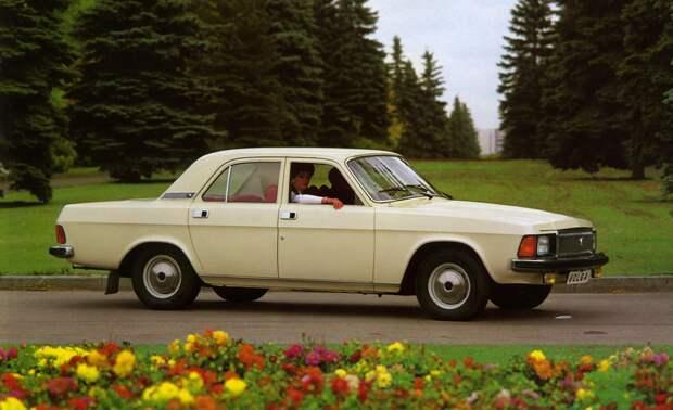 ГАЗ-3102 Волга – Volvo 240 газ, советский автопром