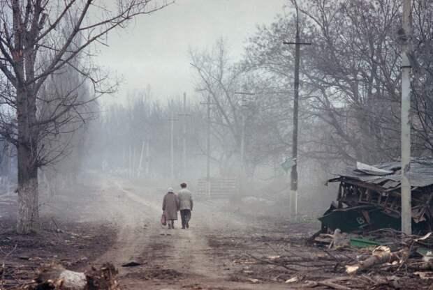 Разрушенный Грозный