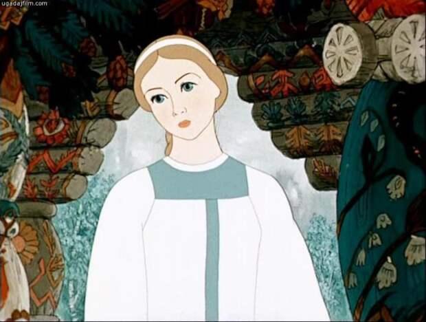 Кадр из мультфильма *Снегурочка*, 1952