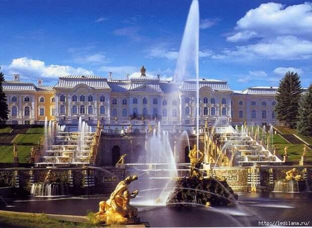 Петергоф(Санкт-Петербург) Чудеса России, природа, сооружения