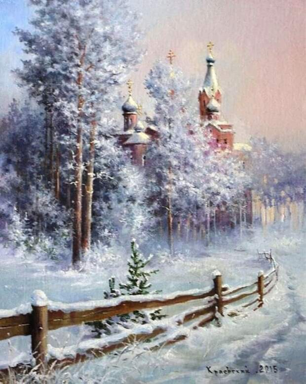 художник Владимир Краевский картины – 39