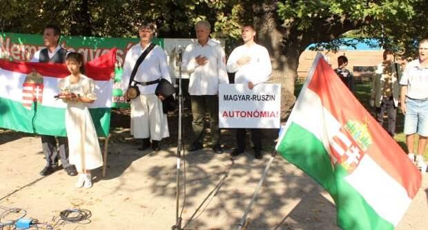 Венгерско-украинская битва за Закарпатье продолжается