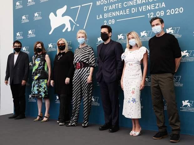 Члены жюри 77-ко Венецианского кинофестиваля