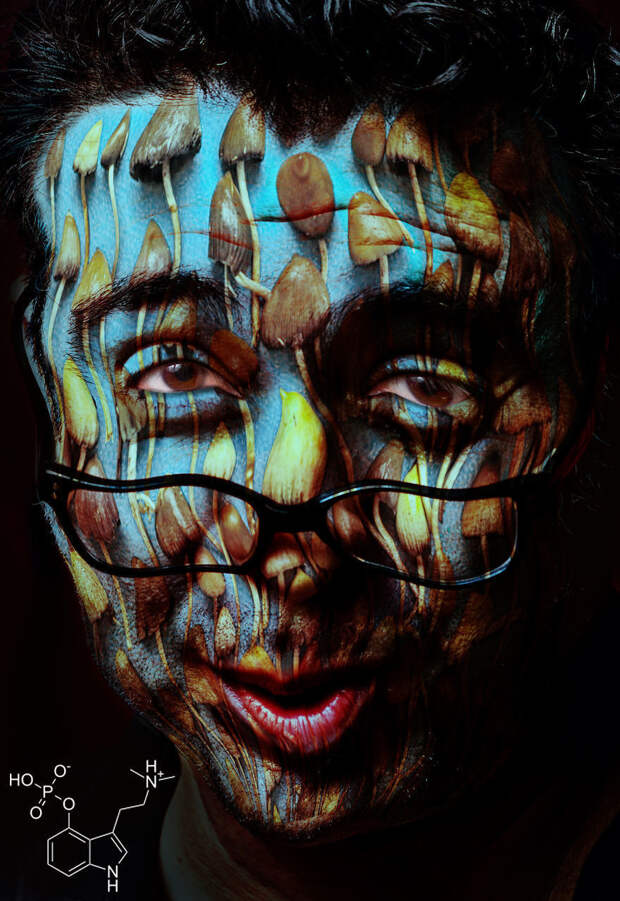 Будоражащие портреты людей, которые принимают наркотики