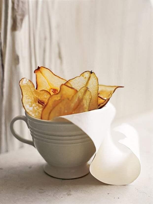 Грушевые чипсы своими руками