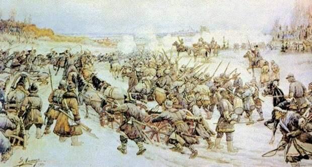 Как Болотников осаждал Москву