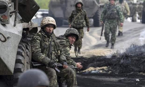 Каратели концентрируют военную технику на мариупольском направлении