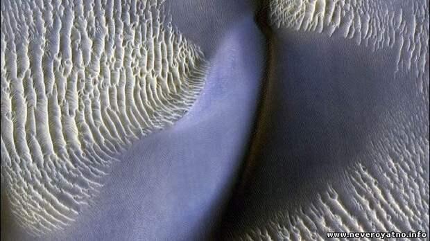 На Марсе ожили дюны