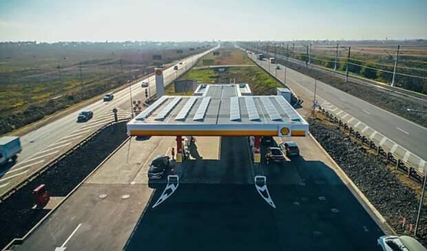 «Шелл» и«Хевел» реализовали первый проект пообеспечению российской АЗС концерна солнечной энергией