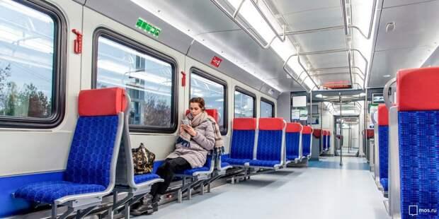 Поезда МЦД-2, следующие через Митино, в выходные увеличат интервал движения