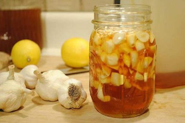Лимон, чеснок и мед для чистки сосудов: рецепт настойки