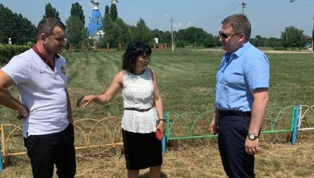 Дмитрий Ламейкин посетил Динской район с рабочим визитом