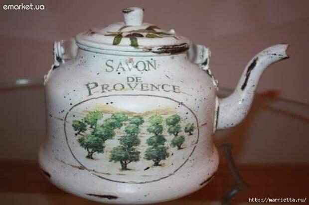 Дарим новую жизнь старым чайникам
