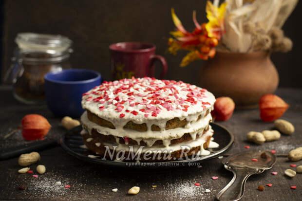 """Торт """"Наташа"""" со сметанным кремом"""