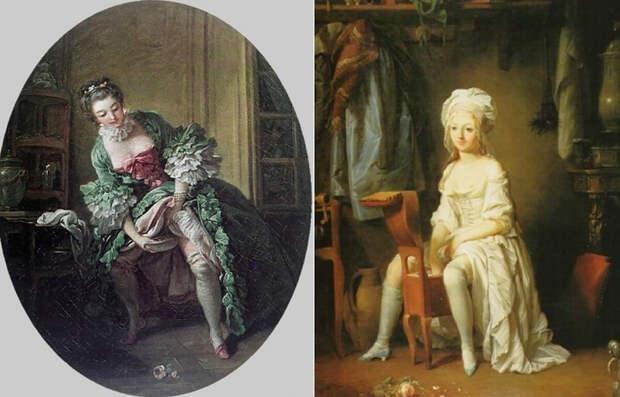 Как в 19 веке женщины умудрялись посещать дамские комнаты в своих огромных кринолинах