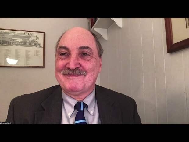 Пресс-подход по итогам четвертой сессии XVII Ежегодного заседания клуба «Валдай».  Джеймс Эндрю Льюис