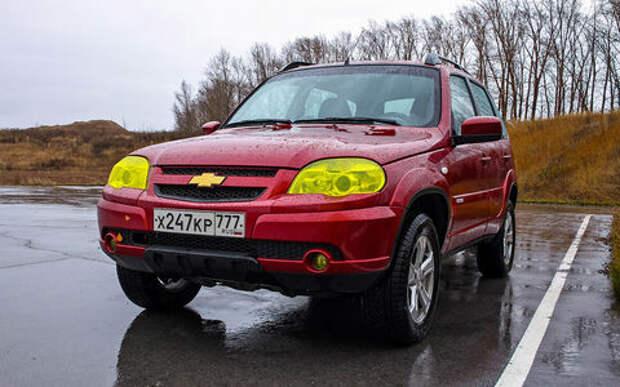 Chevrolet Niva из парка ЗР: 102 000 км на одометре