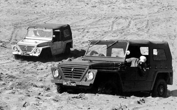 ВАЗ-Э2121 «Крокодил» СССР, автомобили, советская техника, советские машины