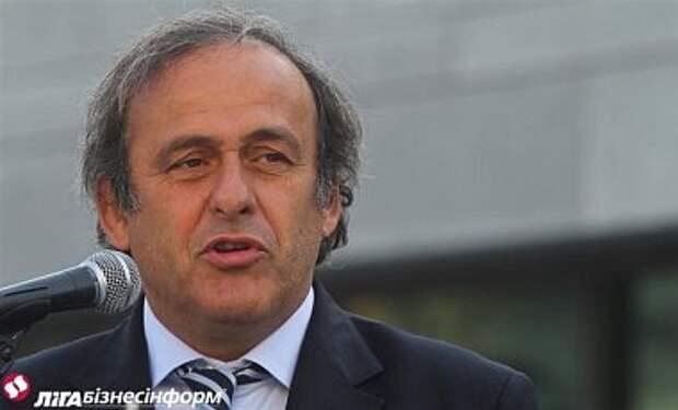 УЕФА обсудит крымский вопрос 18 сентября - Платини