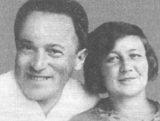 Лев Зильбер и его жена Зинаида Ермольева, начало 1930-х гг. | Фото: mtdata.ru