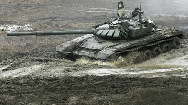 Танкисты Балтийского флота на учении отразили удар условного противника под Калининградом