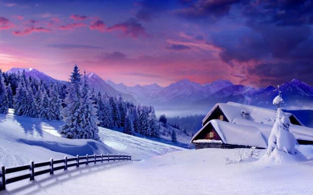 Зима - это не так уж и плохо! Особенно, когда красиво.