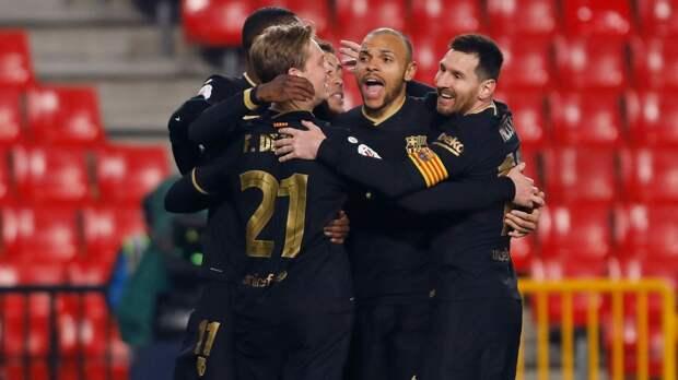Бомба-матч «Барселоны»: на 88-й минуте светило поражение 0:2, но Месси, Гризманн и Альба забили пять голов
