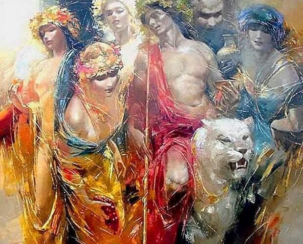 художник Роман Гарасюта (Roman Garassuta) картины – 01
