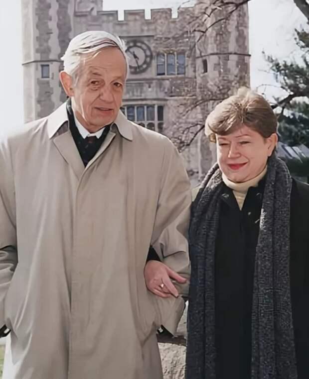 Джон и Алисия Нэш в 2000-х
