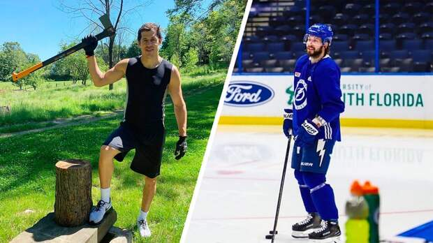 Кучеров вернулся налед, аМалкин начал колоть дрова. Как русские звезды НХЛ возвращаются кнормальной жизни