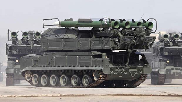 """Сирийские """"Буки"""" уничтожили четыре израильские ракеты"""