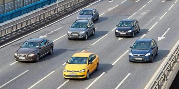 Загруженность основных магистралей Сокола оценивается в один балл Фото: mos.ru