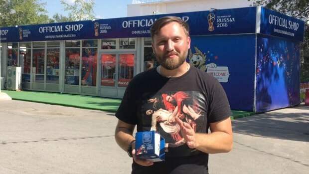 Послевкусие: идеальный сервис в магазинах сувениров ЧМ - 2018 (ВИДЕООПРОС)