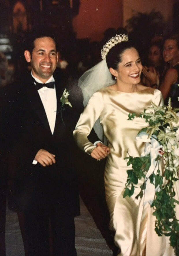 Свадьба Элены и Рика Салинаса, 1997 год