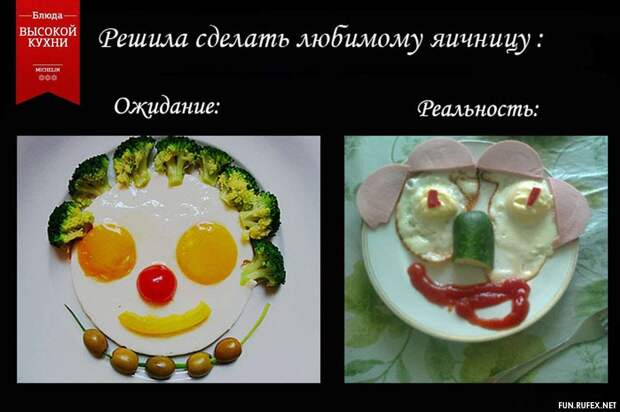 Веселые продуктовые картинки