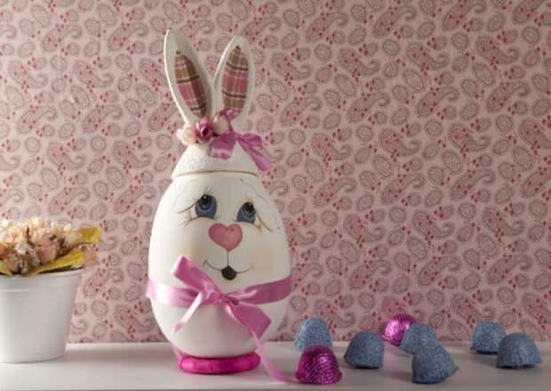 пасхальный заяц из яйца роспись (12) (700x498, 520Kb)