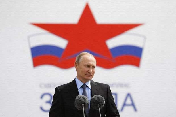 Во время посещения Путиным судостроительной верфи «Звезда» произошёл конфуз