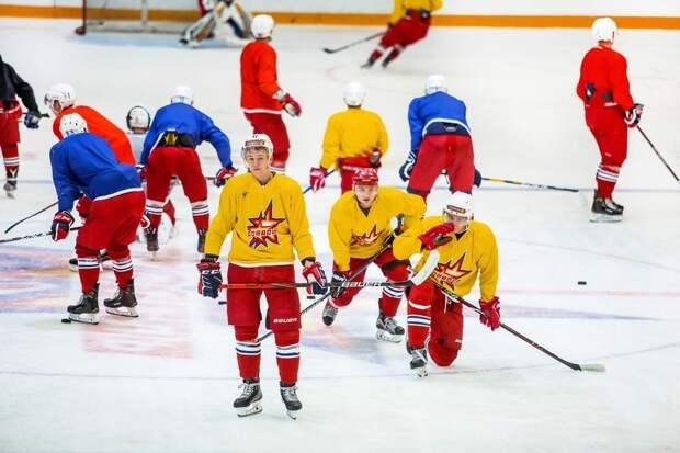 Хоккеисты «Ижстали» возобновили тренировки