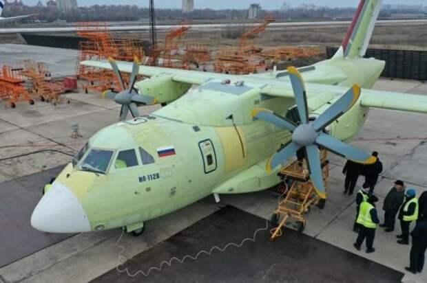 На авиазаводе в Воронеже продолжаются попытки установить оборудование на перетяжеленный Ил-112В