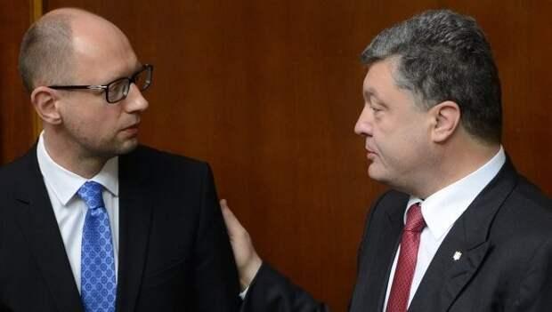 Порошенко и Яценюк все чаще ссорятся на публике