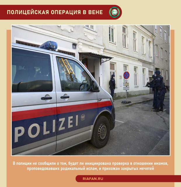 Полицейская операция в Вене