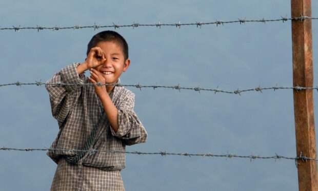 Мальчик из Бутана