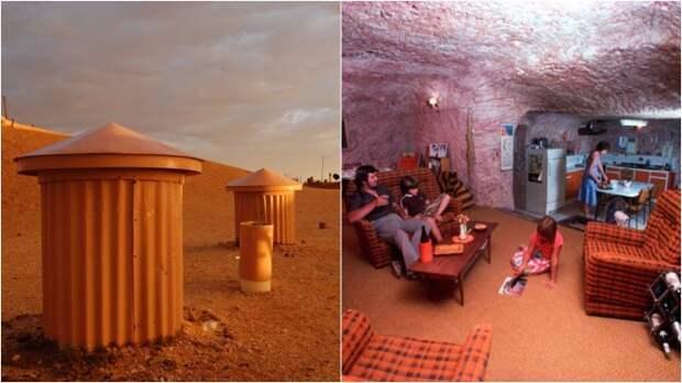 Подземный город в пустыне Австралии: почему желающих жить под землей становится все больше
