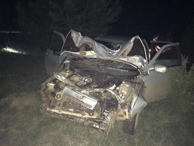 Участник смертельного ДТП в Сарапульском районе скрылся с места происшествия