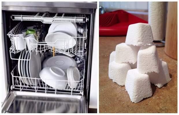 Делаем «таблетки» для посудомоечной машины