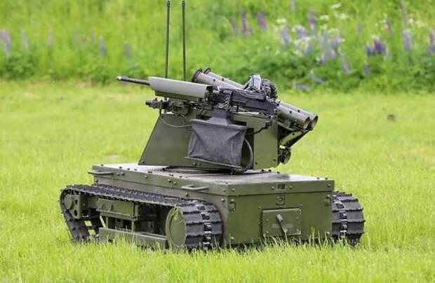 Боевые роботы «Платформа М» хорошо проявили себя в ходе учений «Запад-2021»