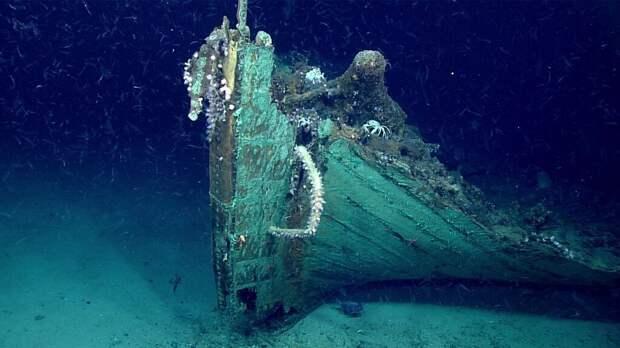 На дне Мексиканского залива нашли старинное судно с надписью «2109»
