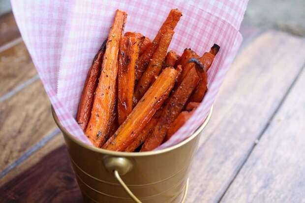 Как приготовить морковные палочки с сыром