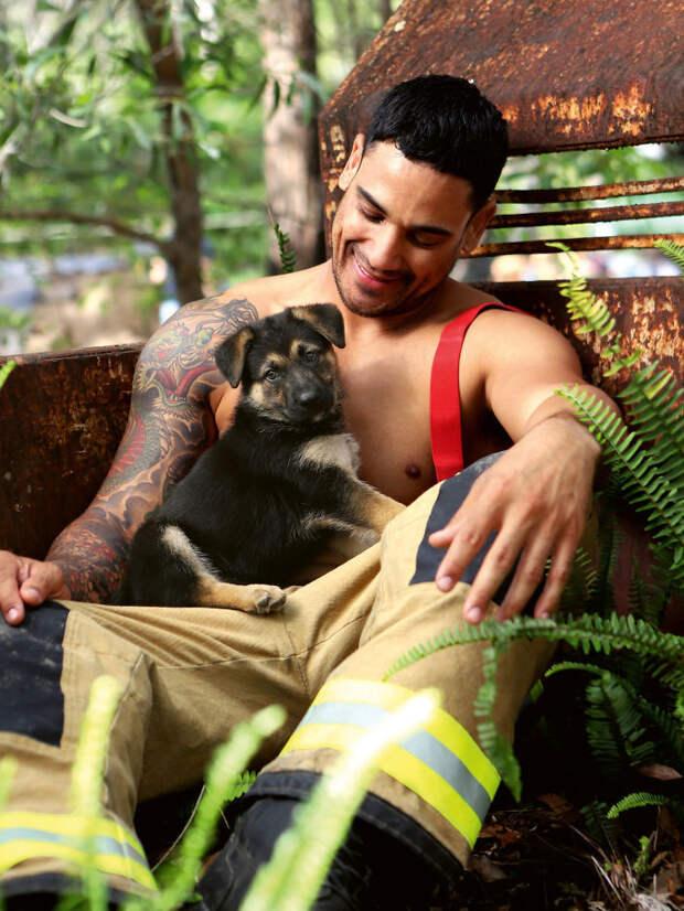 Календарь пожарных Австралии 2020