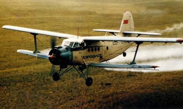 Ан-2 в сельскохозяйственной версии